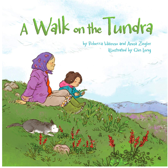 Book cover for A Walk on the Tundra