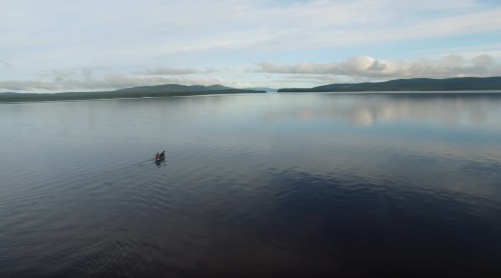 """A screenshot from Justin Barbour's video, """"83 Days Across Labrador Wild"""""""